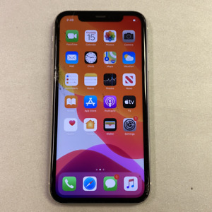 Apple iPhone 11 - 64GB - White (Unlocked) (Read Description) BG1115