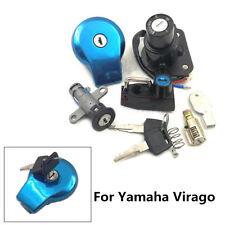 For Yamaha Virago XV250 XV125 240 535 Ignition Switch Fuel Gas Cap Lock Key Set