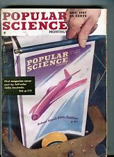 Popular Science Magazine November 1947 Robots Attack Sonic Riddles 063017nonjhe2