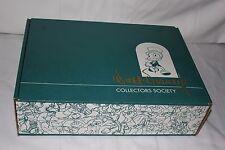 Wdcc Walt Disney Collectors Society Winnie The Pooh Figurine Pin Book Holder COA