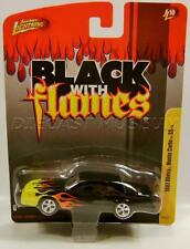 1987 '87 CHEVY MONTE CARLO SS BLACK WITH FLAMES JOHNNY LIGHTNING DIECAST RARE