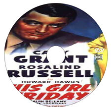 His Girl Friday - Cary Grant - Rosalind Russell - British Comedy - DVD - 1934