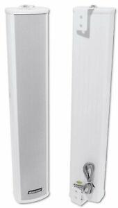 OMNITRONIC PCW-30 Wetterfeste Tonsäule Lautsprecher IP44 ELA-Technik 100 Volt