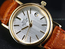 AUTH. DEALER NEW Glycine 26mm Swiss Made Quartz Gold Tone Silver Dial SS Watch