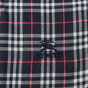 """Man's Scarf Cotton Handkerchief Navy Blue Nova check Bandana Logo Embroider 18"""""""