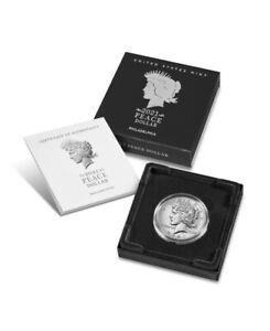 2021 Silver Peace Dollar Philadelphia Confirmed