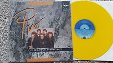 Pur - Viel zu lang zu gut gegangen 12'' Vinyl Maxi YELLOW VINYL