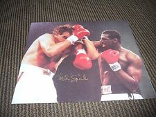 Mike Michael Spinks Boxing Signed Autographed 8x10 Photo PSA Guaranteed
