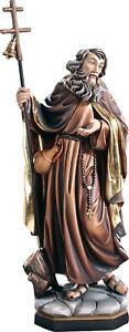 Statue St.Nicola, Hl Nikolaus Of Flue Wooden Statue