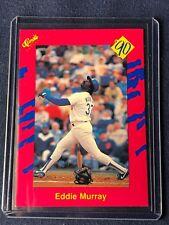1990 Classic Baseball EDDIE MURRAY Card #T37 Los Angeles Dodgers HOF MINT