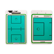Champion Sports Lacrosse Coaches Double Sided Dry Erase Clipboard