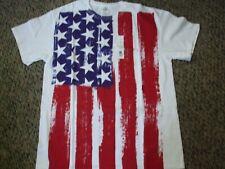 New listing Usa American Stars and Strips Flag Tee Shirt Large Nwt