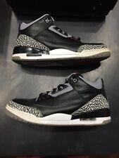 Air Jordan 3 Retro Black Cement 2011 Release SKU 136064 010 Size 11