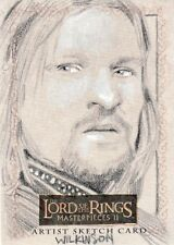 Topps Lord of the Rings Masterpieces II Sarah Wilkinson /  Boromir Sketch Card