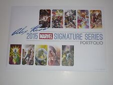 2015 SDCC ALEX ROSS ART PRINT PORTFOLIO - SET OF 11 by ALEX ROSS SIGNED # 06/250