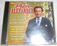 Ich Küsse Ihre Hand Madame - Peter Alexander - neu + ovp CD Album