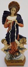 "Statue of Our Lady Undoer Knots Religious Figurine Mary Catholic Faith - 9"""