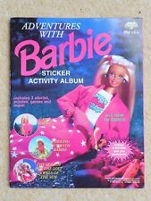 BARBIE GIRL Sticker Book - Unused - Comes with 6 Postcards Inside Unused