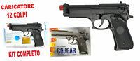 Pistola Cougar Air Soft Calibro Villa Giocattoli mm6 ►NEW◄ PERFECT NERVER REMOV