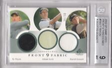 FRONT 9 FABRIC - THREESOMES -  NUMBERED #36 / 50 -  BECKET MINT 9  -  RARE CARD