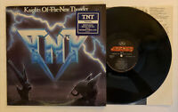 TNT - Knights Of The New Thunder - 1984 US 1st Press (NM) Ultrasonic Clean