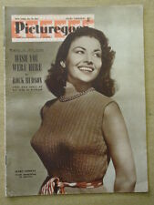 PICTUREGOER 1954 JULY 24 MARA CORDAY ROCK HUDSON BURT LANCASTER ELIZABETH TAYLOR