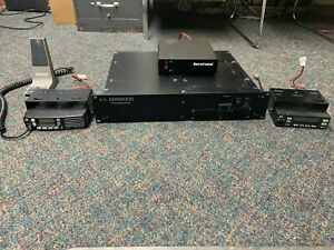 Kenwood TKR-850K UHF Repeater W/ Kenwood TK8160 and TK863 Mobiles