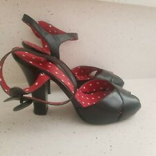 Chinese Laundry Size 41 Black Strappy High Heels
