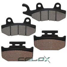 Front & Rear Brake Pads For Kawasaki KX250 / KX500 1989 1990 1991 1992 1993