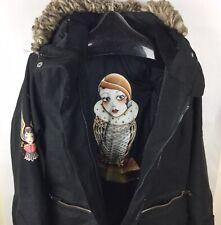 Billabong Angelique Houtkamp Collab Snowboard / Ski  Jacket Tatoo Art