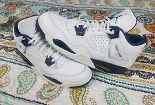 Air Jordan 4 IV Columbia Retro 2015 Mens Sz 14 Basketball Shoes White & Blue