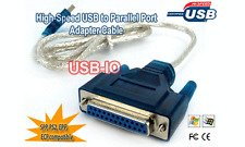 Hi Speed USB To Parallel Port Adapter Cable for Printer