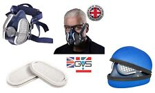 GVS Elipse SPR501 Reusable Half Mask, add P3 Replacement Filters Or Storage Case
