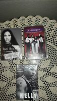 LOT OF 3 NEW/SEALED! HIP HOP, R & B CASSETTE TAPES: NELLY, TONI BRAXTON, XSCAPE