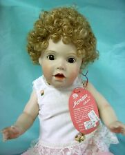 "Monique Doll Wig ""Annie"" Size 12-13 - Blonde Cap of Curls - Afro - Ethnic Dolls"