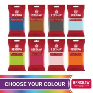 Renshaw Professional Sugar Paste Ready to Roll Edible icing Colour Culpitt Cover