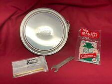 New listing Vintage Coleman Lantern 220E 228E 220F 228F 228H Safe w/Extras Accessory (873)