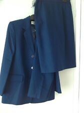 EASTEX, 3 PIECE SUIT OUTFIT , TROUSERS, JACKET ,SKIRT, SIZE 10, BLUE, brand new