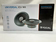 "New listing Focal Icu 165 Universal Integration Series 6-1/2"" 2-way car speakers 0236639"