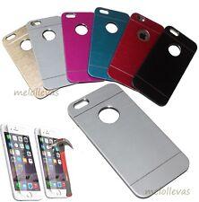 "Funda Carcasa metal para iPhone 6 (4.7"") + (Protector opcional) Aluminio colores"