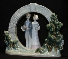 Lladro Bride And Groom With Bermuda Moon Gate*Mint*