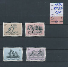LM80879 Luxembourg 1952 sports fine lot MNH cv 50 EUR