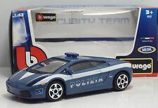 Bburago 30310 Lamborghini GALLARDO - POLIZIA - METAL Scala 1:43