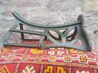 Rare antique Musgraves Belfast horse saddle rack tack room vintage cast iron
