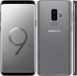 Samsung Galaxy S9 Plus G965U 64GB Factory Unlocked Verizon AT&T T-Mobile Gray