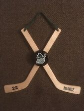 Hockey Door Hangers, custom made.   13 1/2 in tall  16 in wide