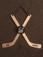 Hockey Door Hangers, custom made. 13 1/2 in tall 16 in wide