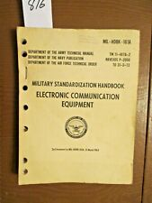 1964 Technical Manual. Electronic Communication Equipment.