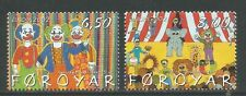 Faroe Is 2002 Europa/Circus--Attractive Topical (414-15) MNH