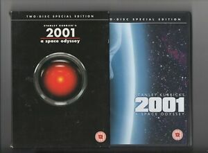 2001 A SPACE ODYSSEY ~2 DISC SPECIAL EDITION SLIPCASE RELEASE~ DVD~ **FREE P&P**